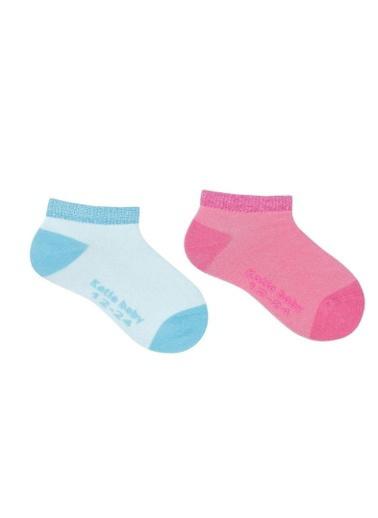 Katia & Bony Lucy 2 Li Bebek Patik Çorap  Fuşya